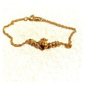 Claddagh Bracelet (vintage)